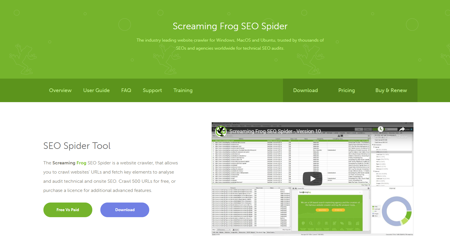 seo spider tool